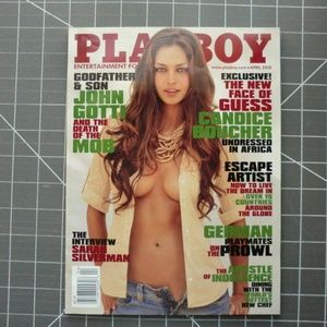 Playboy Magazine April 2010 GUC Candice Boucher